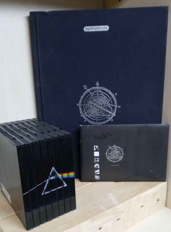 Pink Floyd Shine On 9 CD Set Book Postcards