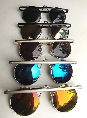 2016 Damen Herrenmode Vintage Katzenaugen Sonnenbrillen Brillen Glas V09