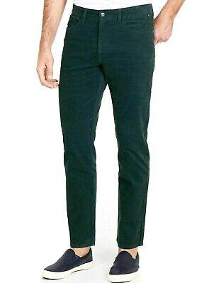 Green Corduroy Pants - Nautica Straight Leg Stretch Corduroy Pants Green Mens 34x30 New