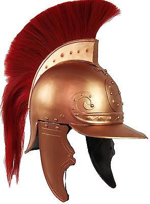 Leonidas Helm Mittelalter LARP Halloween Sparta Lorica Troja Gothic MP1105