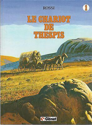 BD - Le chariot de Thespis - EO- cartonnée-1982 -TBE- Rossi