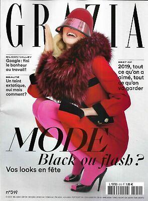 Saoirse Ronan_Chanel_Naomie Ackie_Best Of 2019 FRENCH Grazia 2019 Brand