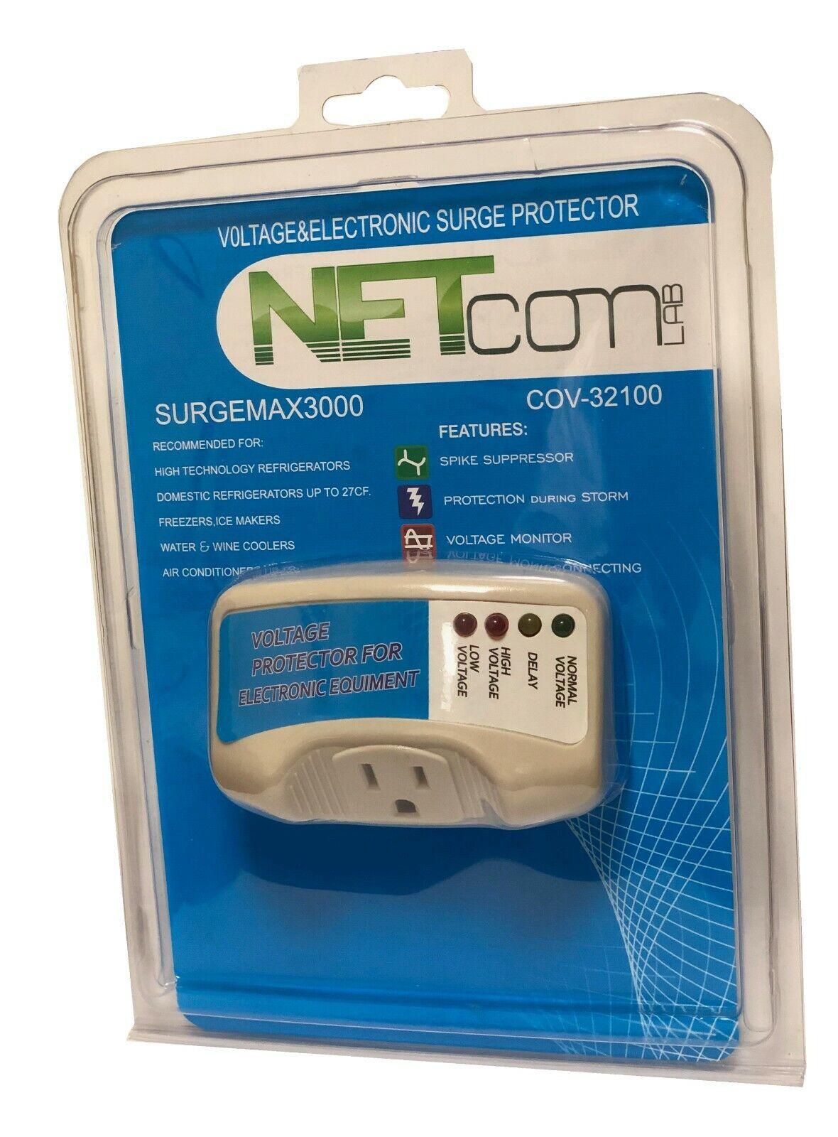 Surgemax3000 Surge Protector for Domestic Refrigerator & Air