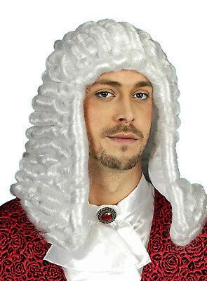Herren Allonge Perücke z.B. zu Kostüm RICHTER Anwalt WEIß mittelalter England