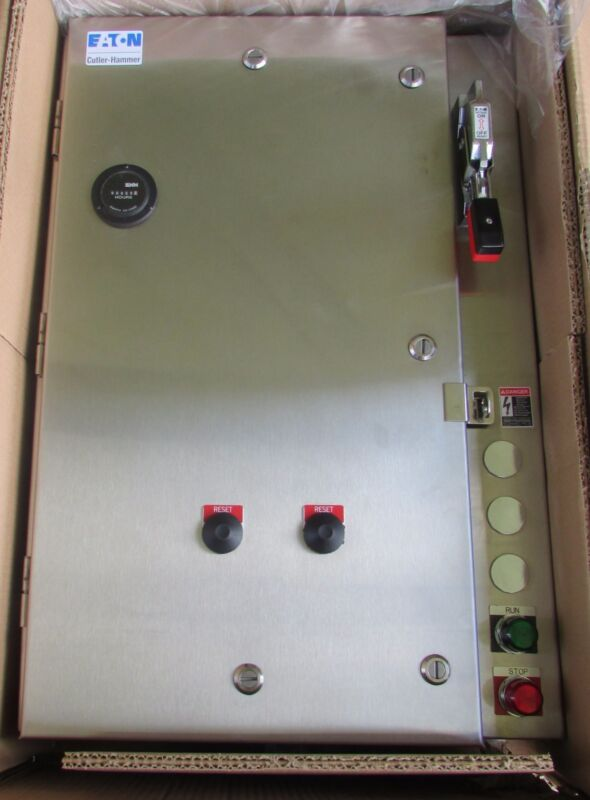 Eaton Cutler Hammer ECN4019CAD Sz1 Multi Speed Starter Breaker Nema 4X Enclosure