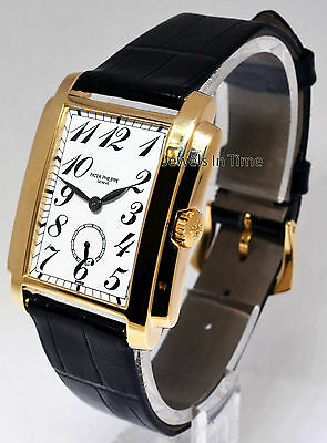 Patek Philippe 5024 Gondolo 18k Gold Manual Mens Watch & Box 5024J