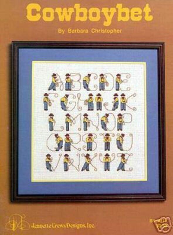 Cowboy Cross Stitch Patterns Ebay