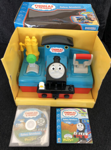 Computer Games - Thomas and Friends Railway Adventures CD Rom Computer Playset Windows PC 2001