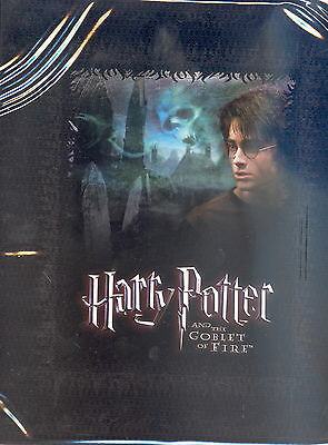 HARRY POTTER GOBLET OF FIRE GOF UPDATE 2006 TRADING CARD ALBUM BINDER