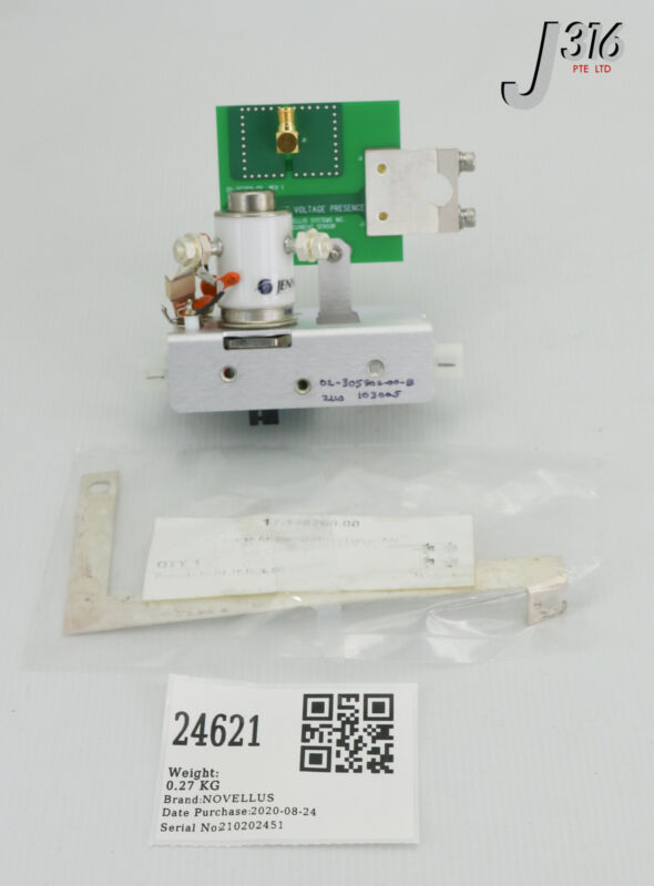24621 Novellus Assy, Mount Relay Rf Switch, 26-307109-00 (new) 02-101578-00