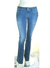 Jeans Donna Pantaloni 7//8 KAOS Italy Slim Fit Blu Scuro SA699 Tg 26 29 31 32