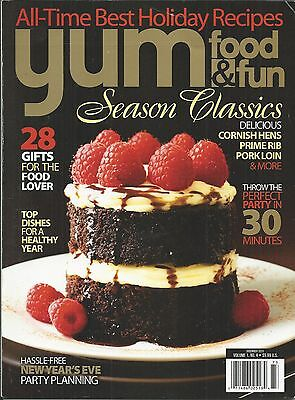 Yum Food And Fun Magazine Season Classics Best Holiday Recipes Party