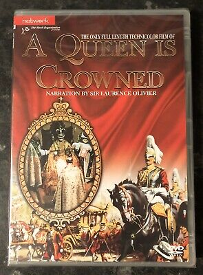A QUEEN IS CROWNED DVD 1953 (SIR LAURENCE OLIVIER) BRAND NEW & SEALED MINT