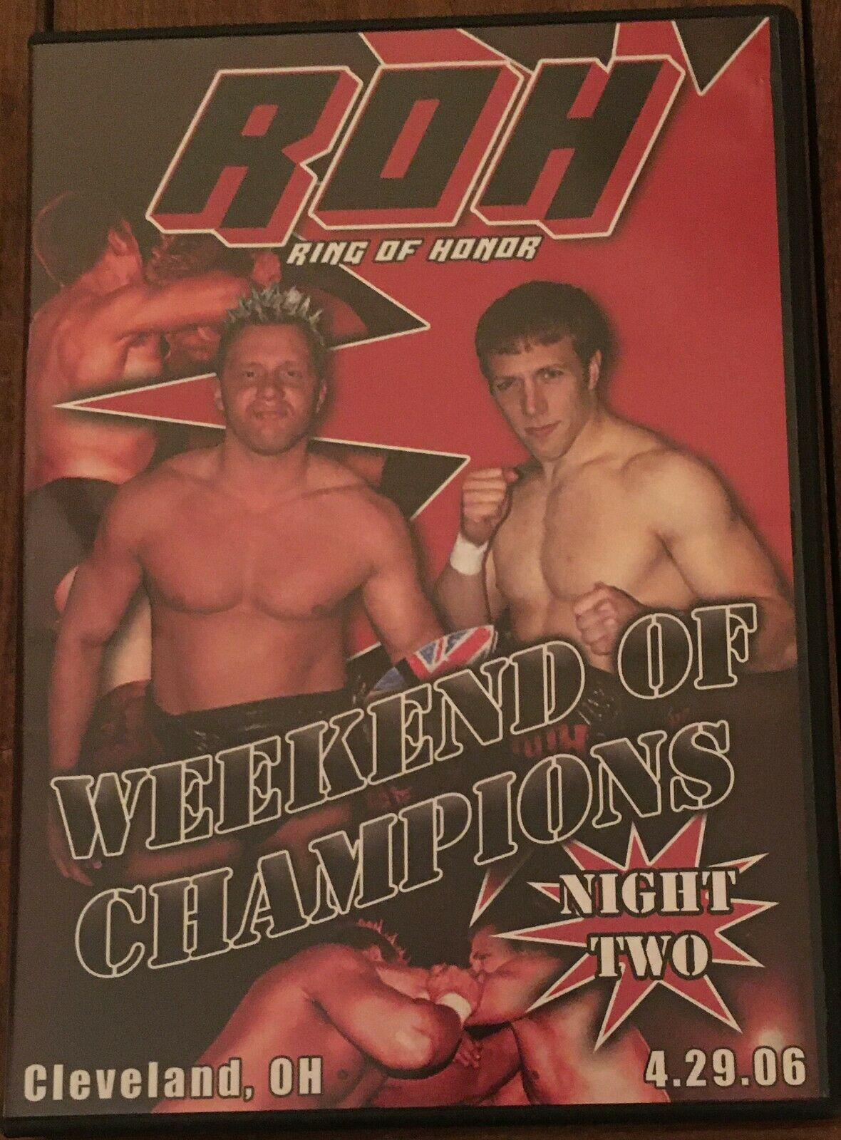 ROH Weekend Of Champions Night Two 2006 DVD Ring Of Honor WWE AEW NXT TNA PWG EC - $9.75
