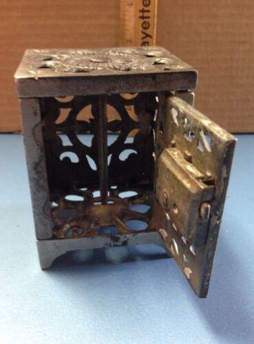 Antique Metal Safe Still Bank