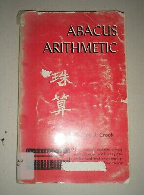 Abacus Arithmetic by Welton Cook Paperback Book 1961