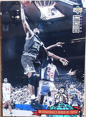 Shaquille O Neal Orlando Magic NBA Trading Card Dr Basketballs World of Trivia