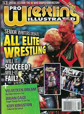 PRO Wrestling Illustrated   October  2019