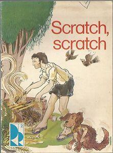 Scratch, Scratch paperback 1978 - 16 page stapled book - vintage school reader