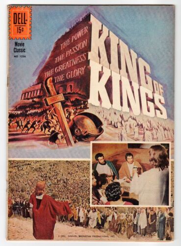 Dell - FOUR COLOR #1236 KING OF KINGS - VG 1961 Vintage Comic