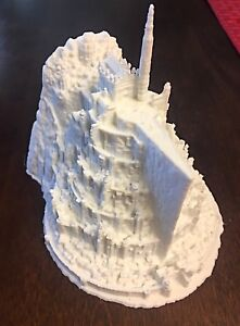 Minas Tirith City Model On Lord of the Rings