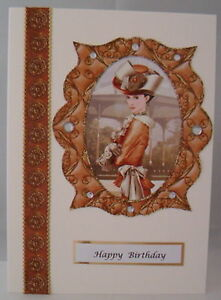 Art-Deco-Regancy-Elegant-Lady-Birthday-Card-or-any-occasion-can-be-personalised