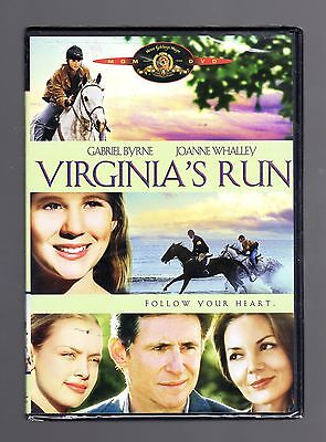 Virginia's Run (dvd) Gabriel Byrne, Joanne Whalley, Kevin Zegers, Brand