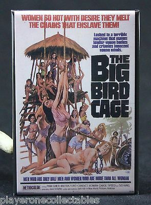 "The Big Bird Cage Movie Poster 2"" X 3"" Fridge / Locker Magnet."