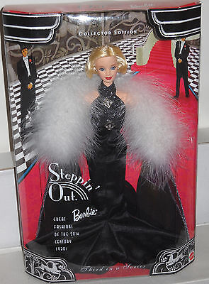 #8351 NRFB Mattel Great Fashions of the 20th Century 1920's Steppin' Out Barbie