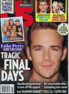 US Weekly  Magazine  March 2019  Luke Perry