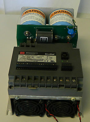 Mts Systems Corp  10 Hp 230V Driveblok Drive Adm2010d000000s  Used  Warranty