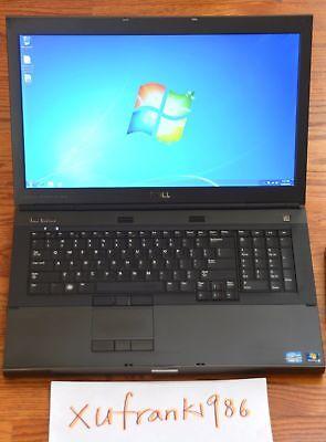 """Dell M6600 17"""" i7 QUAD Turbo 3.3GHz 4GB 500GB NVIDIA 2GB GDDR5 1080p Win7P Key"""