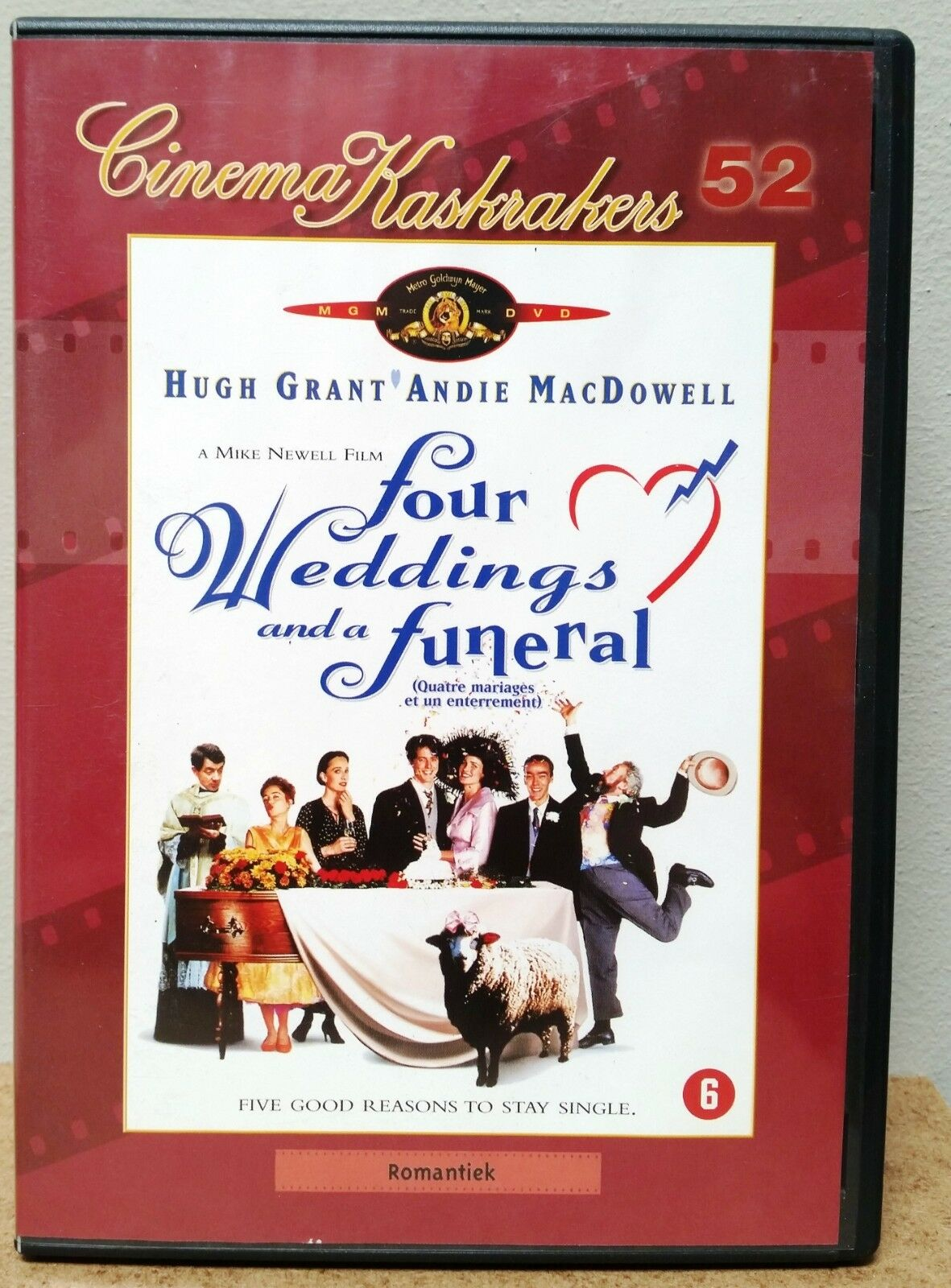 Four Weddings And A Funeral (1994) Hugh Grant – Andie MacDowell