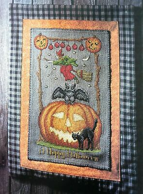 Halloween Wall Hanging Patterns (A Happy Halloween Wall Hanging CROSS STITCH SEWING)