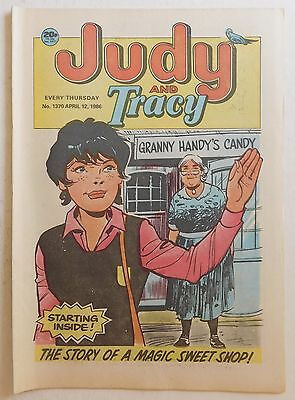 JUDY & TRACY Comic #1370 - 12th April 1986