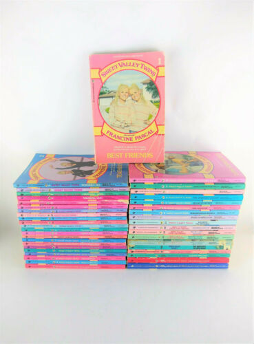 Sweet Valley Twins Lot 41 Books w/ Super Chillers 1-5 21-55 More Francine Pascal