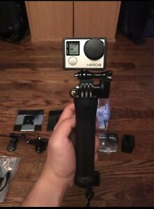 Go pro hero 4 silver mint condition