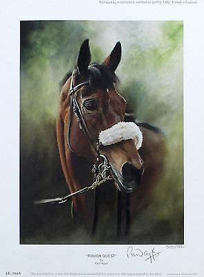 """APPS """"From Bechers to Victory"""" rough quest SIGNED LTD! SIZE:47cm x 76cm NEW RARE"""