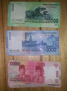 Indonesian Rupiah INR - 2 million Valley View Salisbury Area Preview
