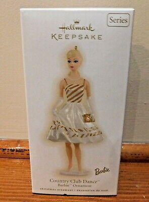 Hallmark Keepsake Christmas Ornament Country Club Dance Barbie 2009
