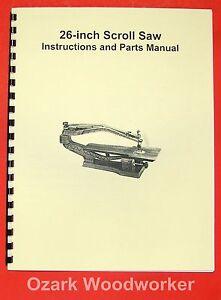 JET-Asian-JSS-26-26-Scroll-Saw-Operators-Parts-Manual-0394
