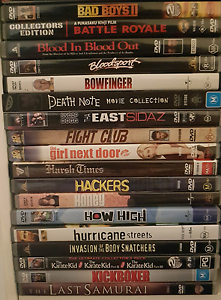 Original DVDs lots of titles Paddington Eastern Suburbs Preview