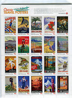 Classic Travel Posters - Nuova Zelanda Cat. Yvert 2909-2928 -  - ebay.it