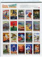 Classic Travel Posters - Nuova Zelanda Cat. Yvert 2909-2928 -  - ebay.it