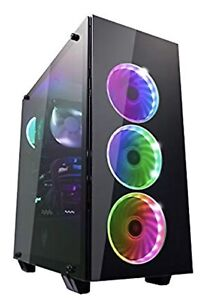 FSP ATX Mid Tower PC Gaming Case RGB  (CMT510)