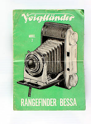 Voigtlander Bessa II Sales Brochure - 8 pages