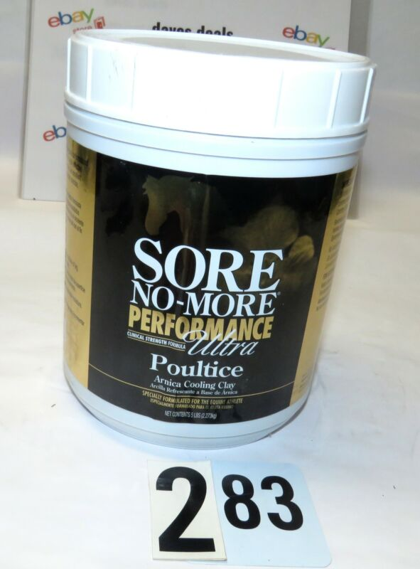 Sore No More Performance Ultra Cooling Clay Poultice 5lbs.