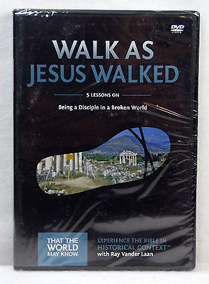 New Walk As Jesus Walked DVD Faith Lessons Vol 7 Ray Vander