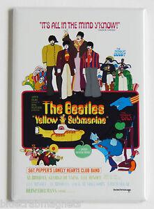 Beatles Yellow Submarine FRIDGE MAGNET movie poster john paul george ringo