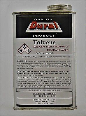 Toluene 1 Quart - Solvent And Thinner